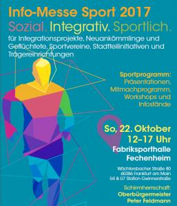 flüchtlinge-frankfurt | einladung zur info-messe sport, Einladung